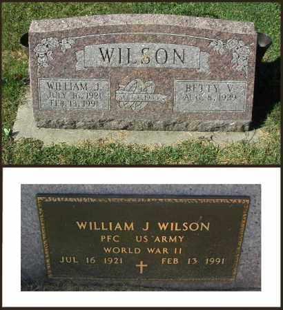 WILSON, BETTY - DeKalb County, Illinois | BETTY WILSON - Illinois Gravestone Photos