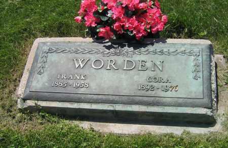 WORDEN, CORA - DeKalb County, Illinois   CORA WORDEN - Illinois Gravestone Photos