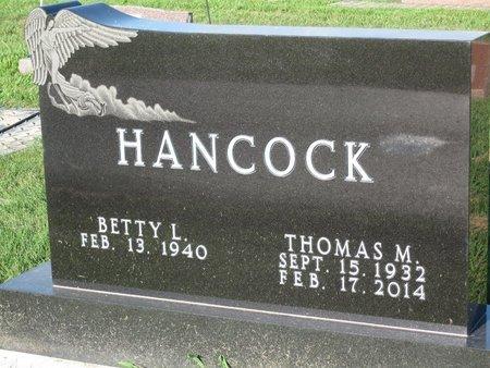 "HANCOCK, THOMAS M. ""TOM"" - Douglas County, Illinois | THOMAS M. ""TOM"" HANCOCK - Illinois Gravestone Photos"