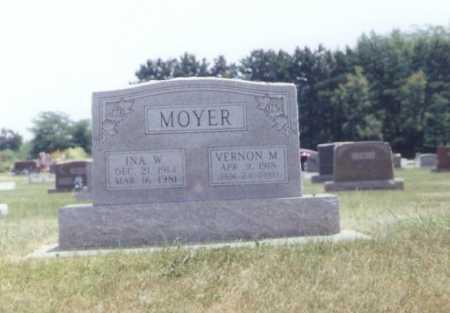 MOYER, VERNON - Douglas County, Illinois | VERNON MOYER - Illinois Gravestone Photos
