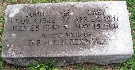 REXROAD, JOHN ELBERT - Douglas County, Illinois | JOHN ELBERT REXROAD - Illinois Gravestone Photos