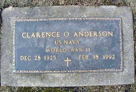 ANDERSON, CLARENCE O - DuPage County, Illinois | CLARENCE O ANDERSON - Illinois Gravestone Photos
