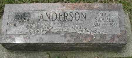 ANDERSON, SAMUEL - DuPage County, Illinois | SAMUEL ANDERSON - Illinois Gravestone Photos