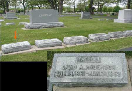 ANDERSON, DAVID A. - DuPage County, Illinois | DAVID A. ANDERSON - Illinois Gravestone Photos