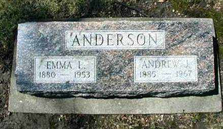 ANDERSON, ANDREW J. - DuPage County, Illinois | ANDREW J. ANDERSON - Illinois Gravestone Photos