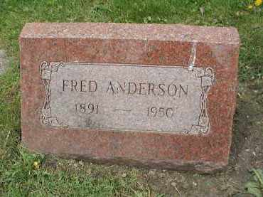 ANDERSON, FRED - DuPage County, Illinois | FRED ANDERSON - Illinois Gravestone Photos