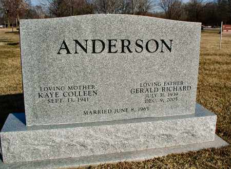 ANDERSON, GERALD RICHARD - DuPage County, Illinois | GERALD RICHARD ANDERSON - Illinois Gravestone Photos