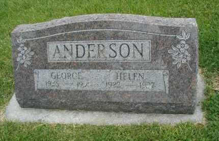ANDERSON, GEORGE - DuPage County, Illinois | GEORGE ANDERSON - Illinois Gravestone Photos