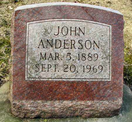 ANDERSON, JANE - DuPage County, Illinois   JANE ANDERSON - Illinois Gravestone Photos