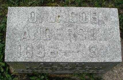 ANDERSON, O. JACOBS - DuPage County, Illinois | O. JACOBS ANDERSON - Illinois Gravestone Photos