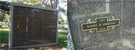 ANDERSON, ROBERT K. - DuPage County, Illinois   ROBERT K. ANDERSON - Illinois Gravestone Photos