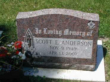 ANDERSON, SCOTT E. - DuPage County, Illinois   SCOTT E. ANDERSON - Illinois Gravestone Photos
