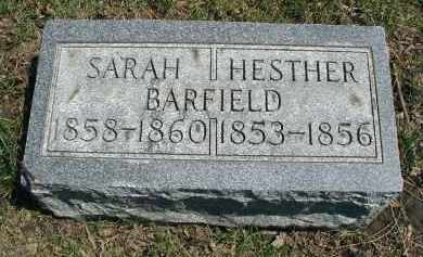 BARFIELD, SARAH - DuPage County, Illinois | SARAH BARFIELD - Illinois Gravestone Photos