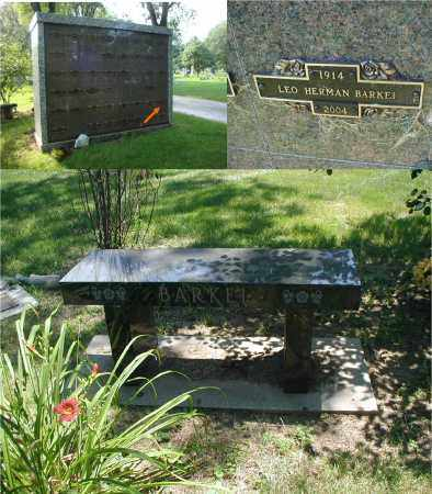 BARKEI, LEO HERMAN - DuPage County, Illinois | LEO HERMAN BARKEI - Illinois Gravestone Photos