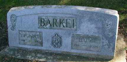 BARKEI, VIRGINIA E. - DuPage County, Illinois | VIRGINIA E. BARKEI - Illinois Gravestone Photos