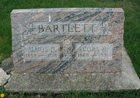 BARTLETT, ALMOS D. - DuPage County, Illinois | ALMOS D. BARTLETT - Illinois Gravestone Photos
