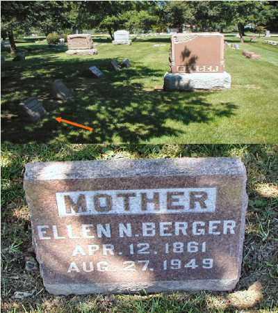 BERGER, ELLEN N. - DuPage County, Illinois | ELLEN N. BERGER - Illinois Gravestone Photos
