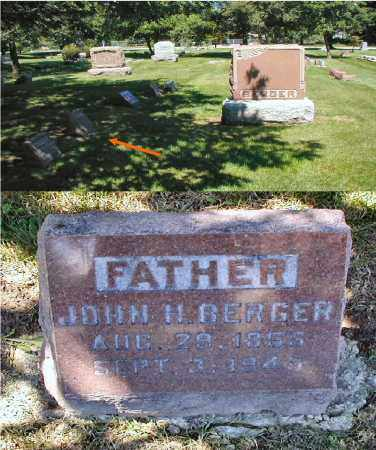 BERGER, JOHN H. - DuPage County, Illinois   JOHN H. BERGER - Illinois Gravestone Photos