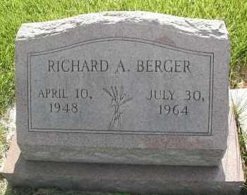 BERGER, RICHARD A. - DuPage County, Illinois | RICHARD A. BERGER - Illinois Gravestone Photos
