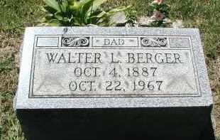 BERGER, WALTER L. - DuPage County, Illinois | WALTER L. BERGER - Illinois Gravestone Photos
