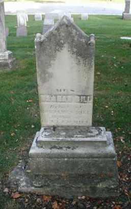 BILL, HANNAH - DuPage County, Illinois | HANNAH BILL - Illinois Gravestone Photos
