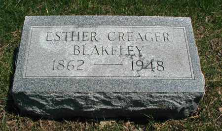 BLAKELEY, ESTHER - DuPage County, Illinois | ESTHER BLAKELEY - Illinois Gravestone Photos