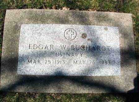 BUCHARDT, EDGAR - DuPage County, Illinois | EDGAR BUCHARDT - Illinois Gravestone Photos