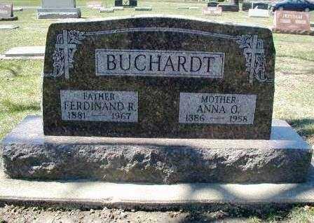 BUCHARDT, FERDINAND R. - DuPage County, Illinois | FERDINAND R. BUCHARDT - Illinois Gravestone Photos