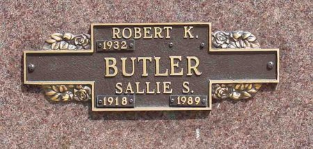 "BUTLER, SARAH ""SALLIE"" - DuPage County, Illinois 