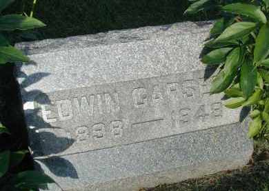 CARSETH, EDWIN - DuPage County, Illinois   EDWIN CARSETH - Illinois Gravestone Photos