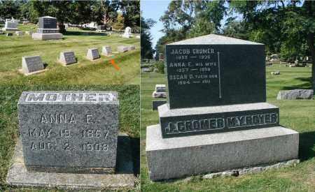 CROMER, ANNA E. - DuPage County, Illinois | ANNA E. CROMER - Illinois Gravestone Photos