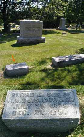 CROMER, BLOSS E. - DuPage County, Illinois | BLOSS E. CROMER - Illinois Gravestone Photos