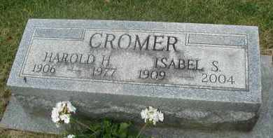 CROMER, HAROLD H. - DuPage County, Illinois | HAROLD H. CROMER - Illinois Gravestone Photos
