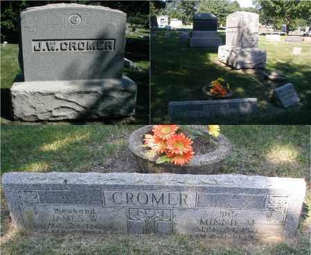 CROMER, MINNIE M. - DuPage County, Illinois | MINNIE M. CROMER - Illinois Gravestone Photos