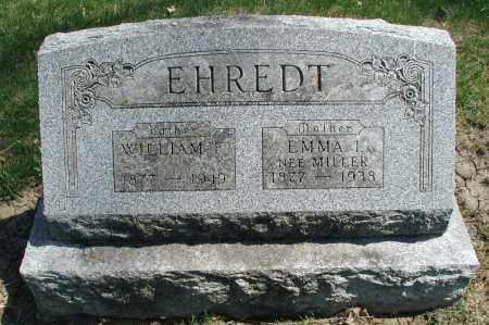 EHREDT, EMMA I. - DuPage County, Illinois | EMMA I. EHREDT - Illinois Gravestone Photos