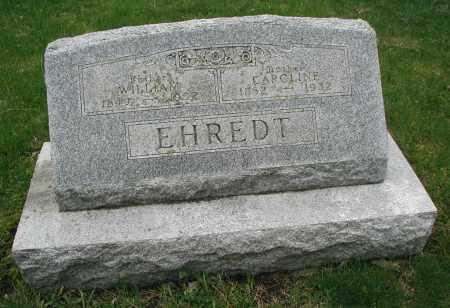 EHREDT, WILLIAM - DuPage County, Illinois | WILLIAM EHREDT - Illinois Gravestone Photos