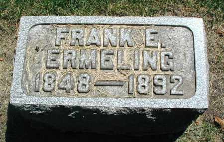 ERMELING, FRANK E. - DuPage County, Illinois   FRANK E. ERMELING - Illinois Gravestone Photos