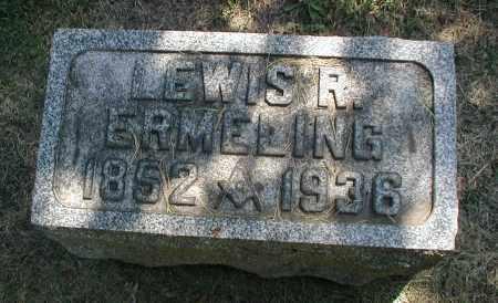 ERMELING, LEWIS R. - DuPage County, Illinois | LEWIS R. ERMELING - Illinois Gravestone Photos