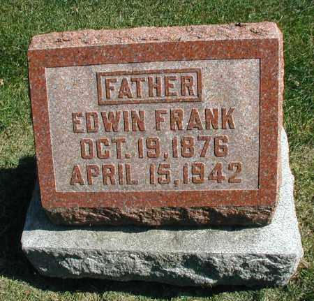 FRANK, EDWIN - DuPage County, Illinois | EDWIN FRANK - Illinois Gravestone Photos