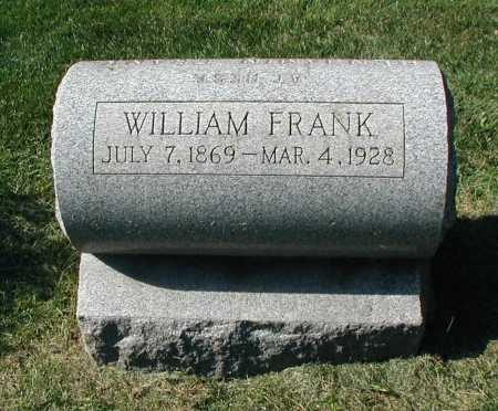FRANK, WILLIAM - DuPage County, Illinois | WILLIAM FRANK - Illinois Gravestone Photos
