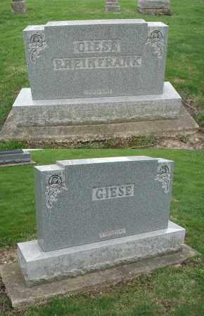 RHEINFRANK, GEORGE W. - DuPage County, Illinois | GEORGE W. RHEINFRANK - Illinois Gravestone Photos