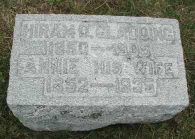 GLADDING, HIRAM D. - DuPage County, Illinois   HIRAM D. GLADDING - Illinois Gravestone Photos