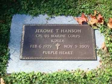 HANSON, JEROME T. - DuPage County, Illinois | JEROME T. HANSON - Illinois Gravestone Photos