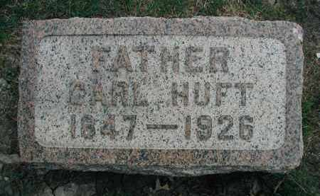 HUFT, CARL - DuPage County, Illinois | CARL HUFT - Illinois Gravestone Photos
