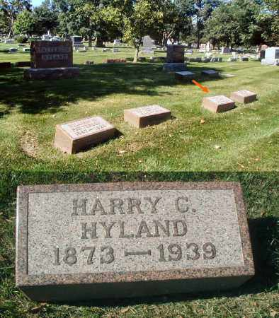 HYLAND, HARRY C. - DuPage County, Illinois | HARRY C. HYLAND - Illinois Gravestone Photos
