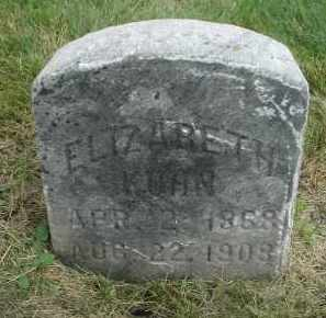 KUHN, ELIZABETH - DuPage County, Illinois   ELIZABETH KUHN - Illinois Gravestone Photos