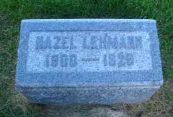 LEHMANN, HAZEL - DuPage County, Illinois   HAZEL LEHMANN - Illinois Gravestone Photos