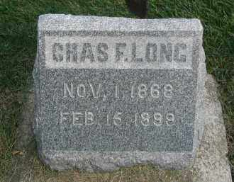 LONG, CHARLES F. - DuPage County, Illinois | CHARLES F. LONG - Illinois Gravestone Photos