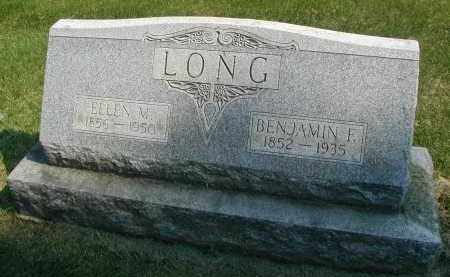 LONG, BENJAMIN F. - DuPage County, Illinois | BENJAMIN F. LONG - Illinois Gravestone Photos