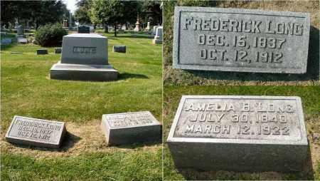 LONG, AMELIA B. - DuPage County, Illinois   AMELIA B. LONG - Illinois Gravestone Photos